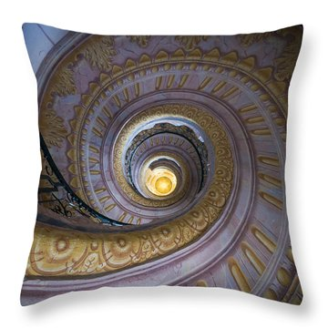 Spiral Staircase Melk Abbey IIi Throw Pillow