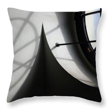 Spiral Window Throw Pillow by Ana Mireles
