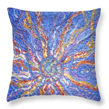 Spirale Money Magnet Throw Pillow