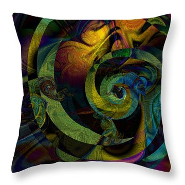 Spiralicious Throw Pillow