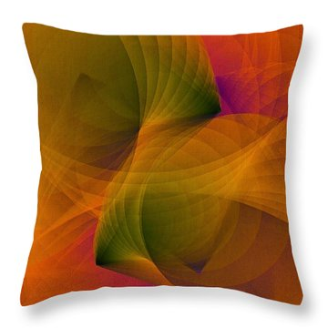 Spiraling Insight With Complicated Continuation Throw Pillow