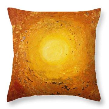 Spiralus Throw Pillow by Tara Thelen - Printscapes