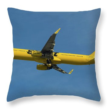 Spirit Air Throw Pillow