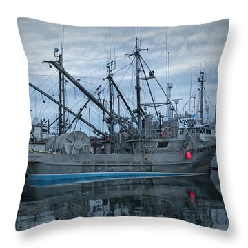 Throw Pillow featuring the photograph Spirit At Rest by Randy Hall
