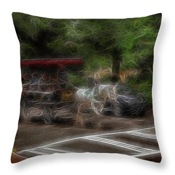 Spirit Carriage 1 Throw Pillow by William Horden