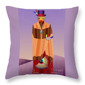 Spirit Civilized Throw Pillow