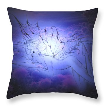 Spirit Fay Throw Pillow