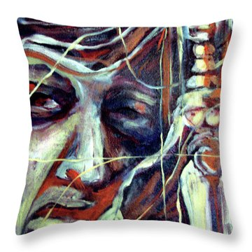 Spirit Guide 2 Throw Pillow