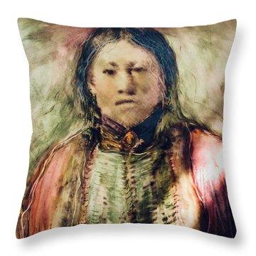 Spirit Healer Throw Pillow