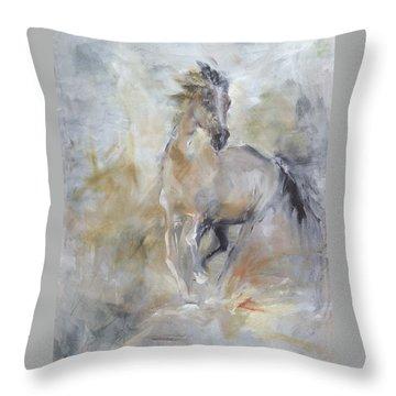 Spirit Horse Throw Pillow