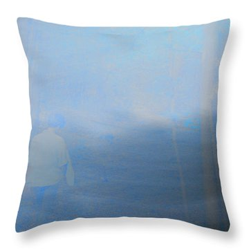 Spirit In The Woods Throw Pillow