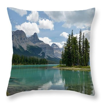 Throw Pillow featuring the photograph Spirit Island And The Hall Of The Gods by Sebastien Coursol