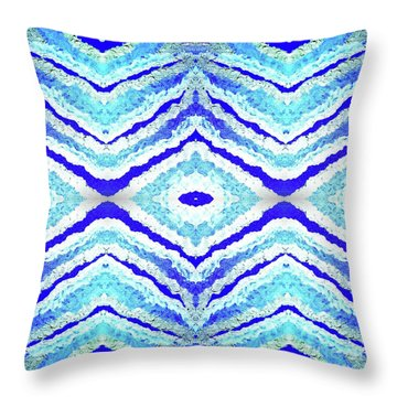 Spirit Journey To The Other Side  Throw Pillow by Rachel Hannah