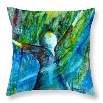 Spirit Move Throw Pillow