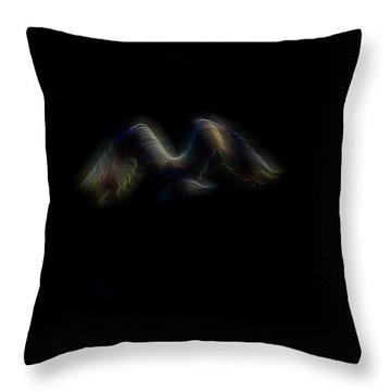 Spirit Of Air 4 Throw Pillow by William Horden