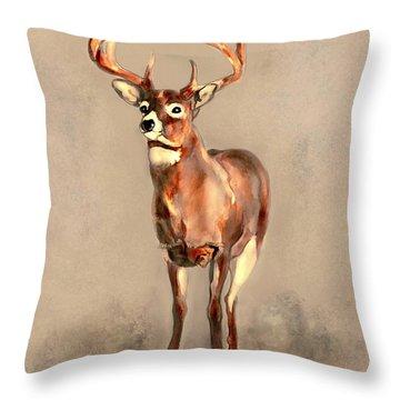 Spirit Of Forest Throw Pillow