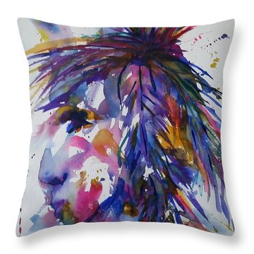 Spirit Of Horsefeather Throw Pillow