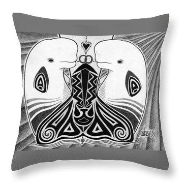 Spirit Of The Arctic Throw Pillow