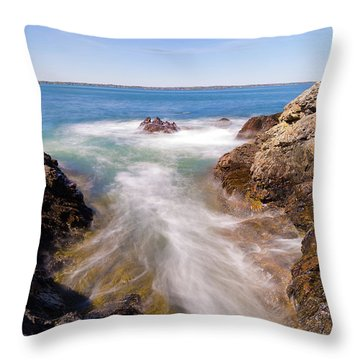 Spirit Of The Atlantic Throw Pillow