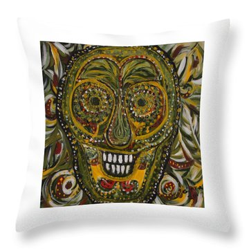 Spirit Of The Jungle Throw Pillow