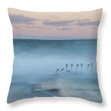 Spirit Of The Ocean Throw Pillow by Az Jackson