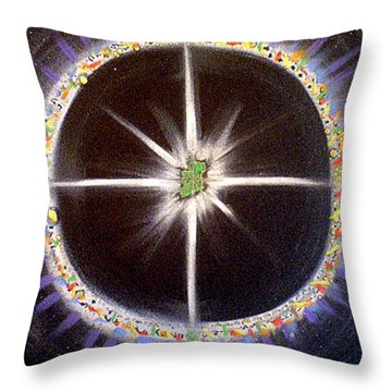 Spirit Of Uisneach Throw Pillow