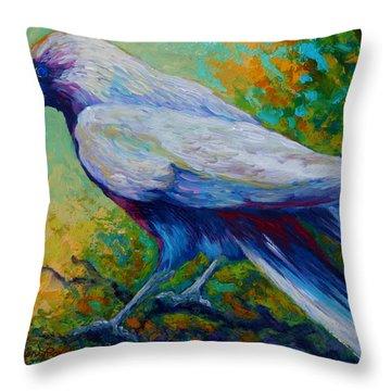 Spirit Raven Throw Pillow
