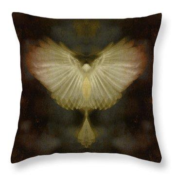 Spirit Rising Throw Pillow by WB Johnston