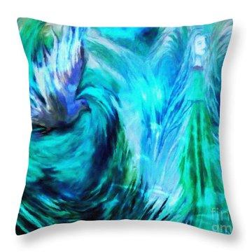 Spirit Sanctuary Throw Pillow