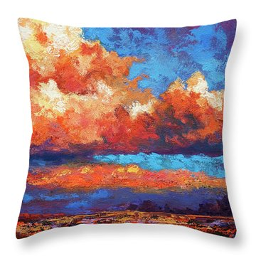 Spirit Sky Throw Pillow