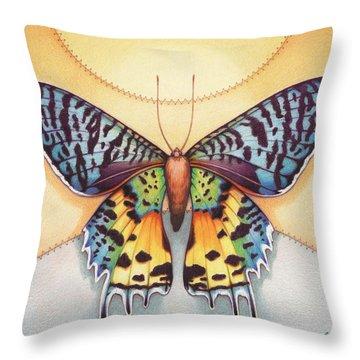 Spirit Sunrise Throw Pillow by Amy S Turner