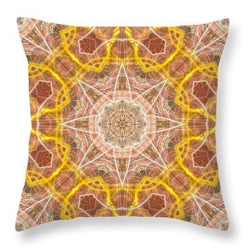 Spirit Throw Pillow by Thomas  MacPherson Jr