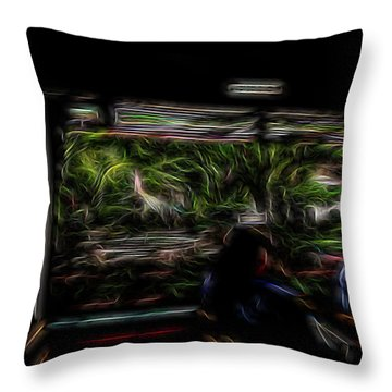 Spirit Tour Throw Pillow by William Horden