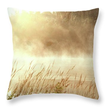 Spirit Wolf Throw Pillow