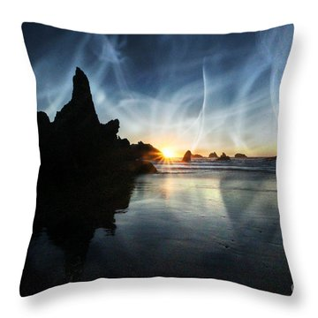 Spirits At Sunset Throw Pillow