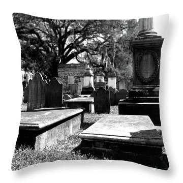 Spirits Of Charleston Throw Pillow
