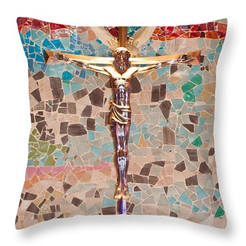Spiritual Beauty Throw Pillow