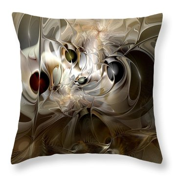 Spiritual Chops Throw Pillow