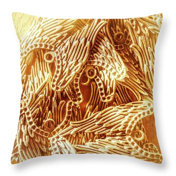 Throw Pillow featuring the photograph Spiritual Entanglement by Jorgo Photography - Wall Art Gallery
