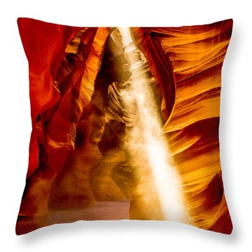 Spirit Light Throw Pillow