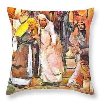 Spiritual Makeover Throw Pillow