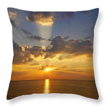 Spiritual Sunrise Throw Pillow