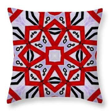Spiro #3 Throw Pillow