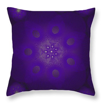 Spiro Dark Throw Pillow