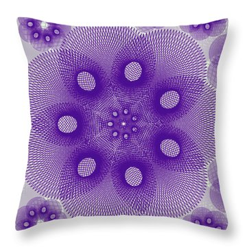 Spiro Light Throw Pillow