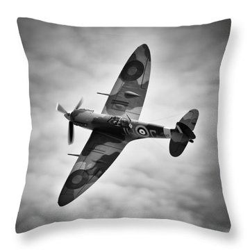 Spitfire Mk5 Throw Pillow