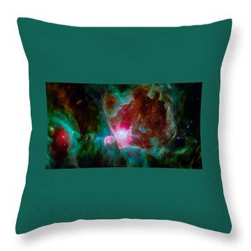 Spitzer's Orion Throw Pillow