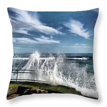 Splash Happy Throw Pillow