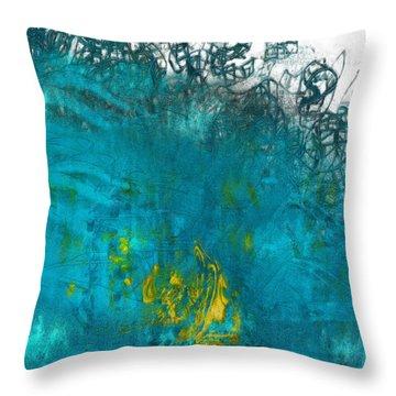 Splash Throw Pillow by Jack Zulli
