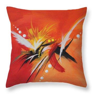 Splash Of Imagination Throw Pillow